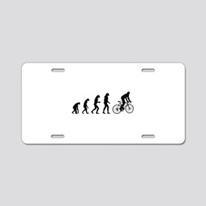 Evolution cycling Aluminum License Plate
