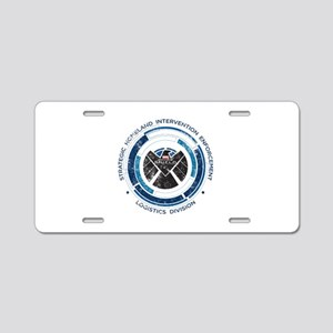 Distressed Shield Aluminum License Plate