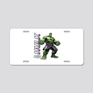 The Hulk Aluminum License Plate