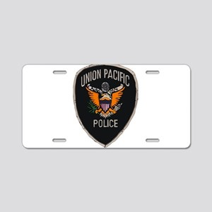 Union Pacific Police patch Aluminum License Plate