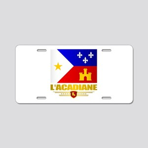 LAcadiane Aluminum License Plate