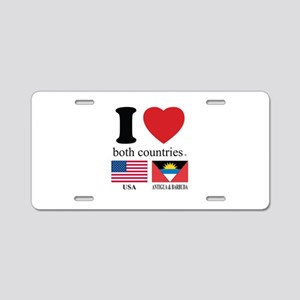 USA-ANTIGUA & BARBUDA Aluminum License Plate