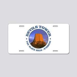 Devils Tower (rd) Aluminum License Plate