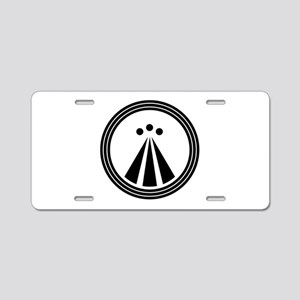 Druid Symbol Aluminum License Plate