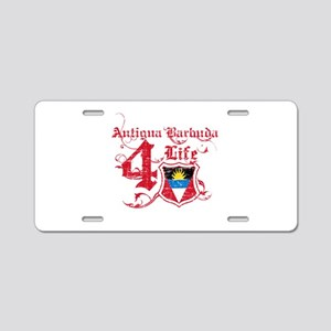 Antigua Barbuda for life designs Aluminum License