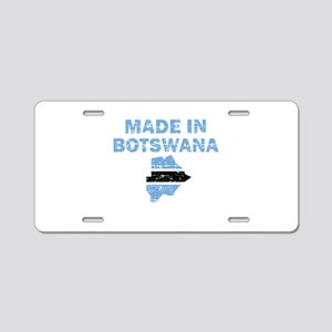 Made In Botswana Aluminum License Plate