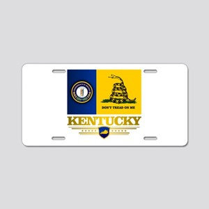 Kentucky Gadsden Flag Aluminum License Plate