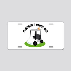 Grandpa Golf Cart Aluminum License Plate