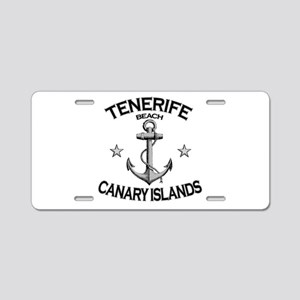 Tenerife Beach, Canary Islands Aluminum License Pl