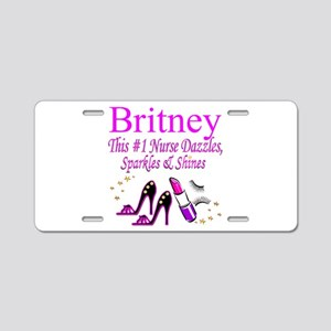 BEST NURSE Aluminum License Plate