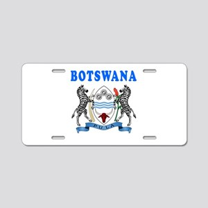 Botswana Coat Of Arms Designs Aluminum License Pla