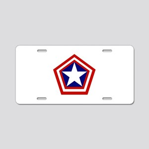 General America Aluminum License Plate