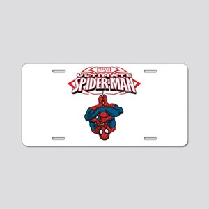 The Ultimate Spiderman Aluminum License Plate