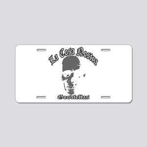 Goodfellas: La Cosa Nostra Aluminum License Plate