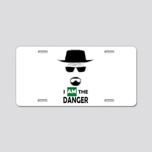 I Am The Danger Aluminum License Plate