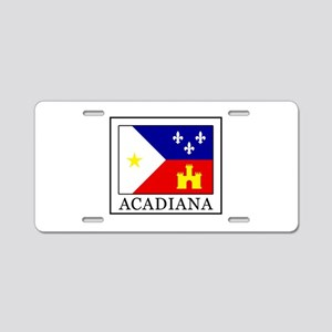 Acadiana Aluminum License Plate