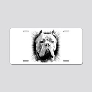 Cane Corso Dog Aluminum License Plate