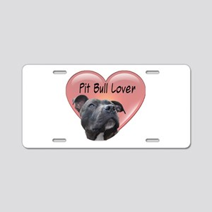 Pit Bull Lover Aluminum License Plate