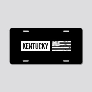 U.S. Flag: Kentucky Aluminum License Plate