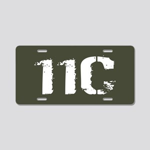 U.S. Army: 11C Mortarman (M Aluminum License Plate