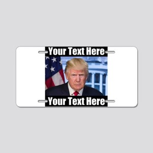 President Donald Trump Meme Aluminum License Plate