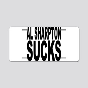 Al Sharpton Sucks Aluminum License Plate
