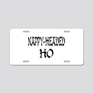 Nappy Headed Ho Oriental Desi Aluminum License Pla