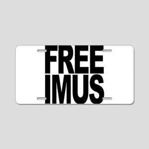 Free Imus Aluminum License Plate