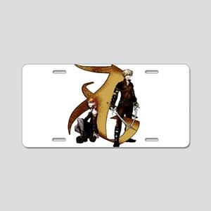 Clace Love - Aluminum License Plate