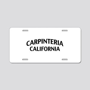 Carpinteria California Aluminum License Plate