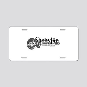 Nashville Aluminum License Plate