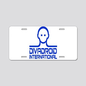 Divadroid Aluminum License Plate