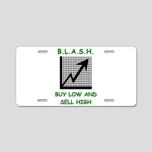 blash Aluminum License Plate
