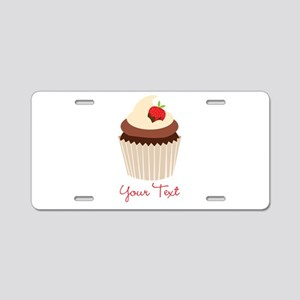 Cute Chocolate and Strawberry Cupcake, Girl Alumin