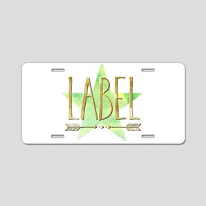 Label Aluminum License Plate