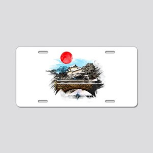 Japanese Palace Aluminum License Plate