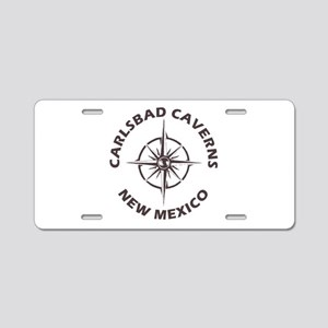 Carlsbad Caverns - New Mexi Aluminum License Plate
