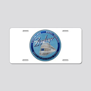 Zephyr engine luggage tag Aluminum License Plate
