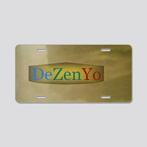 11th Quote; DeZenYo Aluminum License Plate