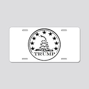 TRUMP DON'T TREAD ON ME Aluminum License Plate