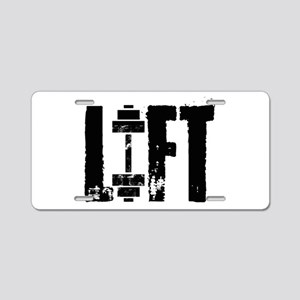 LIFT Aluminum License Plate