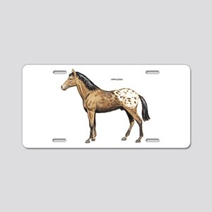 Appaloosa Horse Aluminum License Plate