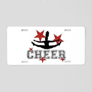 Cheerleader Aluminum License Plates Cafepress