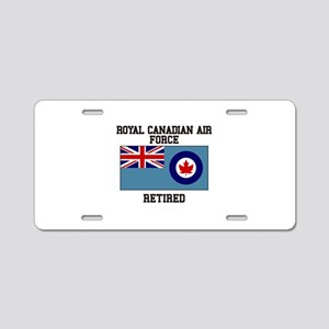 Royal Canadian Air Force Retired Aluminum License