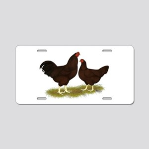 Buckeye Chickens Aluminum License Plate