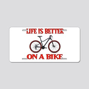 BIKE Aluminum License Plate