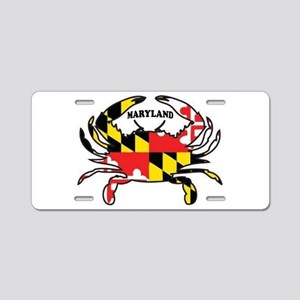 MARYLAND CRAB Aluminum License Plate