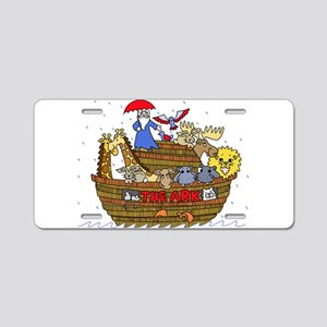 Noah's Ark Aluminum License Plate