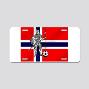 Eirik Raude Football Aluminum License Plate