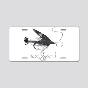 Tie It, Fly It! Aluminum License Plate